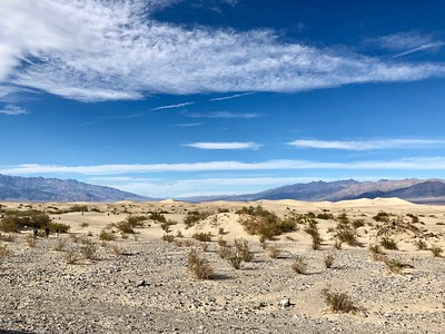 Mesquite Sand Dunes and 1st Night at Camp - 11/23/18