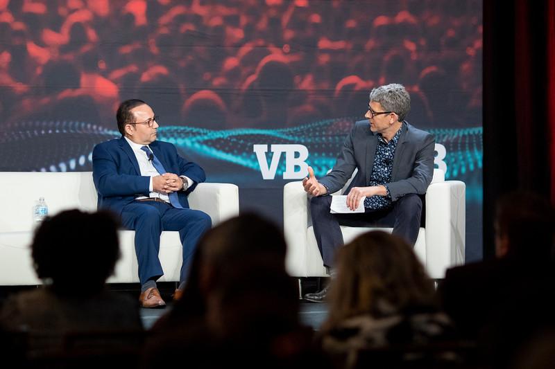 #VBTransform @VentureBeat  AJ Abdallat, CEO, Beyond Limits  Moderator: Matt Marshall, Founder & CEO, VentureBeat  Fireside Chat
