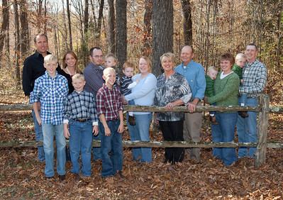 Howell and Gail Combs Family