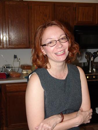 Glenda, In Her Kick-Ass Business Suit