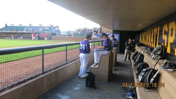 2015 Varsity Baseball vs. St. Xavier