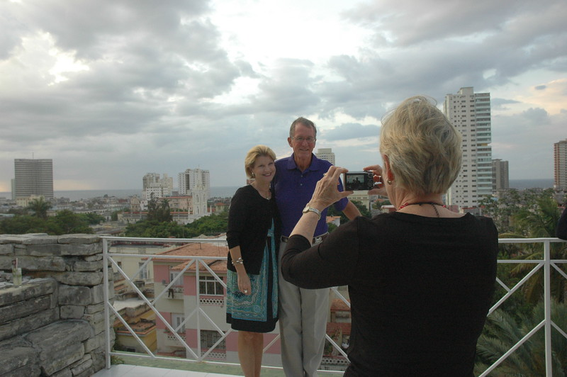 Stephanie capturing Jeanie and Sandy on the roof - Leslie Rowley