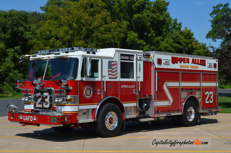 "Upper Allen Engine 1-23: 2012 Pierce Arrow XT ""PUC"" 1500/750/30"