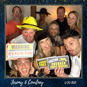 Jeremy + Courtney's Wedding