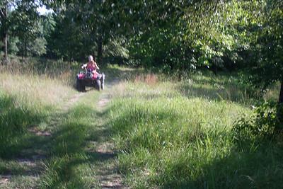 4-wheeling with Karen