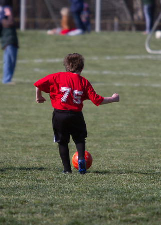 Patrick's First Soccer Game