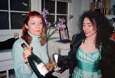 "Alexa Hunter and George's ""Wedding Reception"" Party, Los Angeles, 1991"