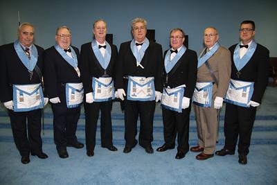Tamaqua Blue Masons Installation, Mason Lodge, Hometown (1-18-2012)