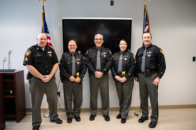 Lake County Sheriff's Office Swearing In