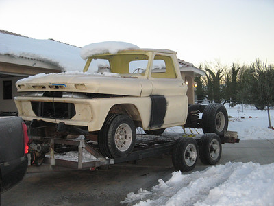 65 Chevy Truck Project