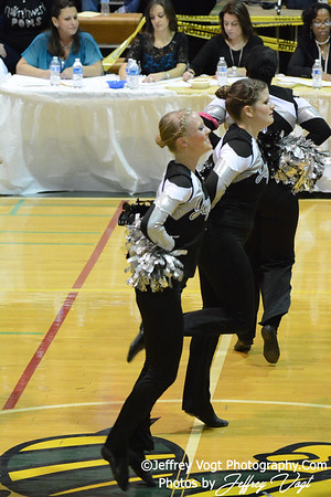 01/18/2014 Northwest HS Poms Division 1 at Damascus HS, Photos by Jeffrey Vogt Photography & Kyle Hall