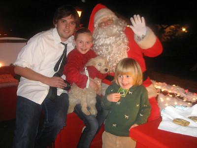 Santa On Pine Avenue