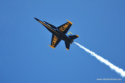 US Navy Blue Angels at the NAS Oceana Air Show 2018