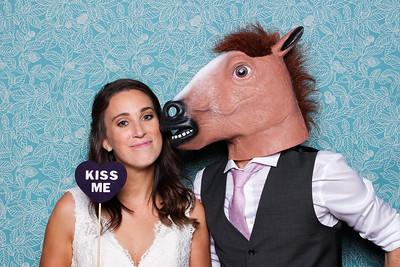 Corey + Colin's Wedding Photo Booth