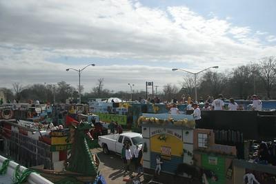 2013 - 02-10 Centaur Rides in Highland Mardi Gras Parade