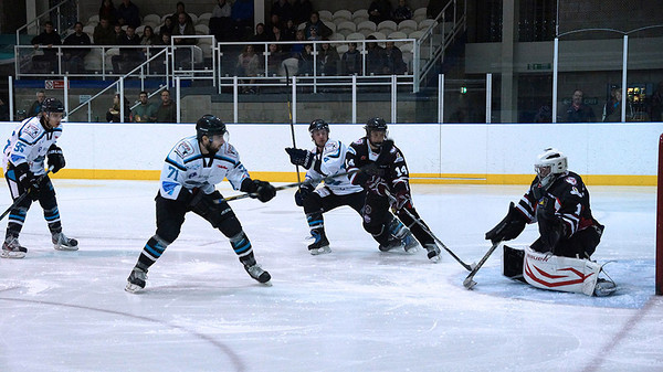 Solway Sharks V's Manchester Minotaurs 22-02-14