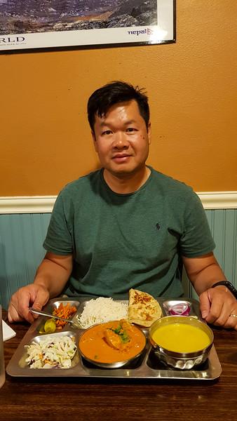 Aug 06 8:40PM Dinner at Wildberry Restaurant in Ashford, WA