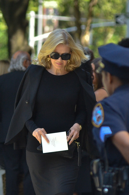 . Diane Sawyer attends the Joan Rivers memorial service at Temple Emanu-El on September 7, 2014 in New York City. (Photo by Kris Connor/Getty Images)