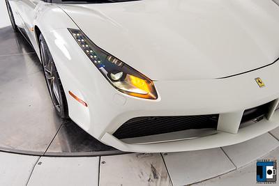Ferrari 488 GTB White