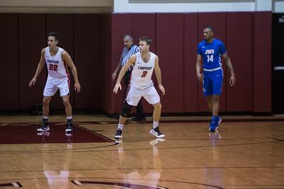 12-07-18 Chapman Basketball vs JWU