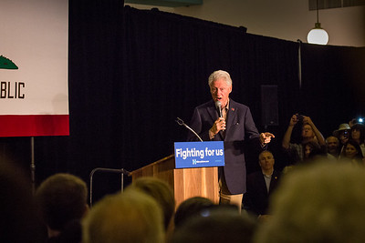 Bill Clinton Balboa Park 2016