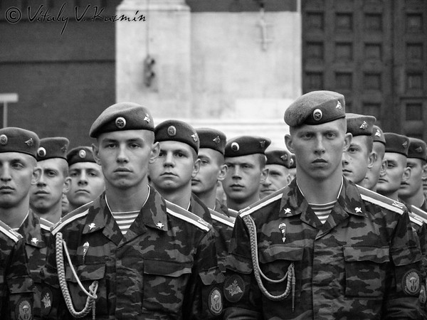 Russian Airborne troops day 2007 celebration