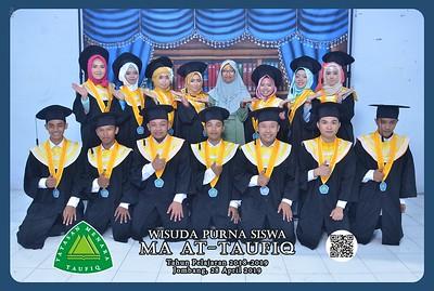 190428 | Wisuda Purna Siswa MTs & MA At-Taufiq serta SMK Nusantara 2019