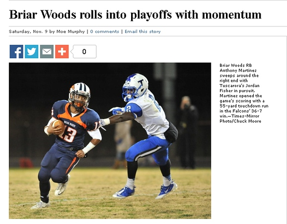 2013-11-09 -- Briar Woods Rolls IntoPlayoffs with Momentum.jpg
