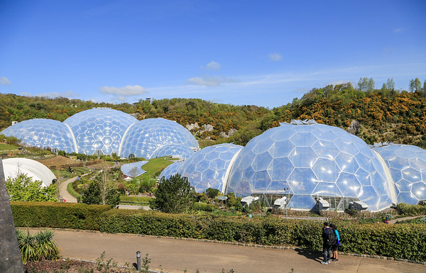 April 16- A Morning Walk and The Eden Project