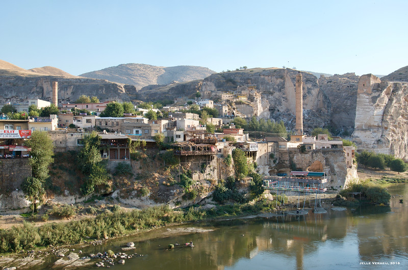 Hasankeyf. General view from the northeast