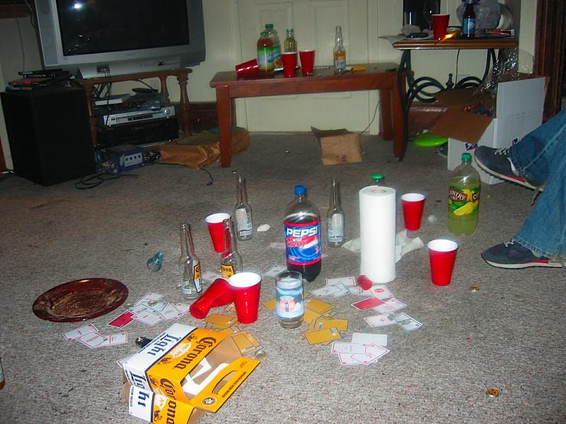And a big mess