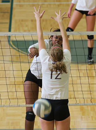 2014 Zeeland West Volleball vs Holland Christian