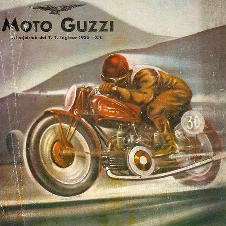Vintage Motorcyle Advertising