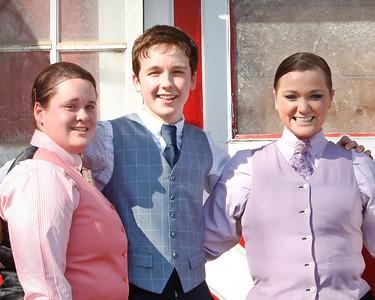 Emily, Anne, Ryan