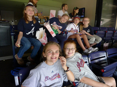 Ashley 11th Bday-Braves