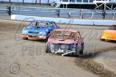 Coos Bay Speedway - Dirt Oval - August 7, 2010