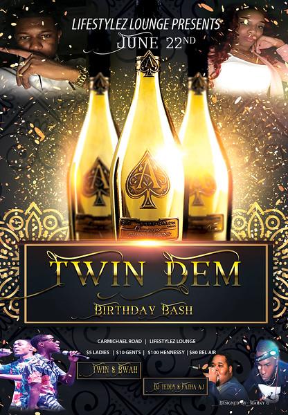 DayDay Birthday Flyer