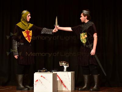 Scots College: Macbeth - Act I sc v; Act V sc v, viii