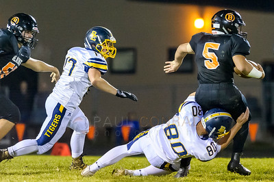 Burlington-Edison defeates Blaine 47 to 13.