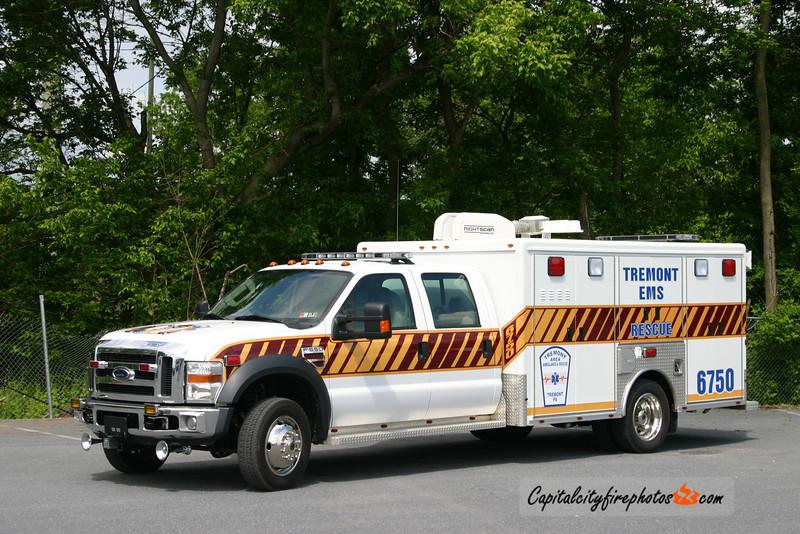 Tremont Fire Co. EMS (Tremont Borough) Rescue 67-50: 2008 Ford/McCoy Miller