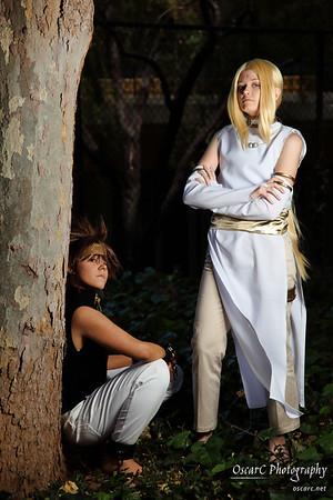 Konzen (TobieJade) and Goku (Solo-dono) from Saiyuki Gaiden