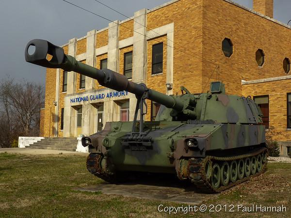 KYANG Armory - Elizabethtown, KY - M109
