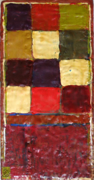 "2005 12""x 15"" encaustic on board (rr)"