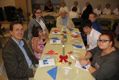 Retirement Banquet for Major Margaret Johnson, Salvation Army, Tamaqua (9-21-2013)