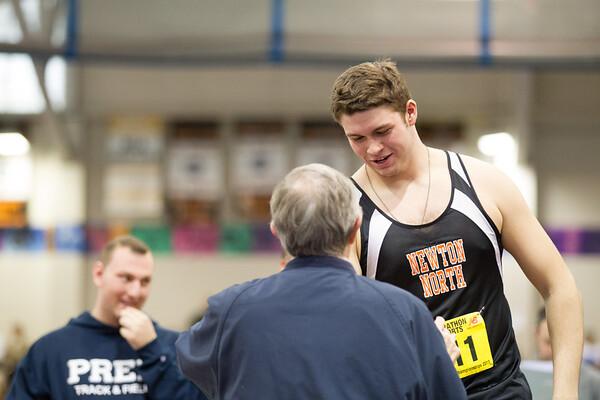 Shot Put -- 2013 MIAA Indoor Track All-State Championship