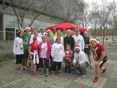 Jingle Bell Run 5k 12-7-13