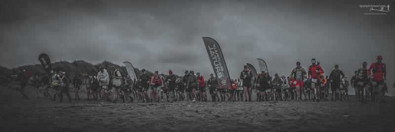 Glan y Don Beach - Pwllheli - Race Start