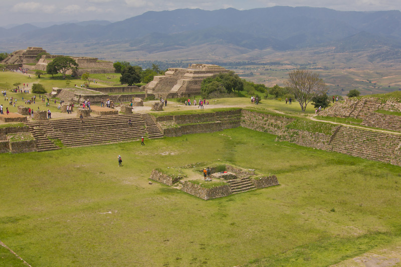 Monte Alban, North Platform, Oaxaca, Dave Millers Mexico