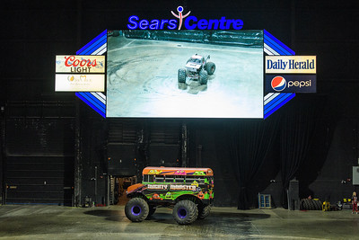 Monster Truck Nationals @ Sears Centre 01.27.18