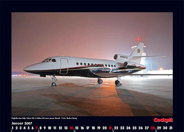 Cockpit Calendar – Jan 2007